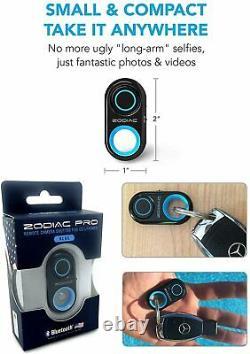 Bluetooth Télécommande Caméra Shutter Selfie Bouton Android Apple Android