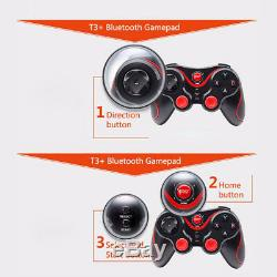 Bluetooth Wireless Game Controller Pour Android Phone Tv Box Pc À Distance Gamepad Us