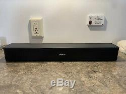 Bose 418775 Tv Solo Président / Soundbar, Noir Withremote, Bluetooth / Hdmi