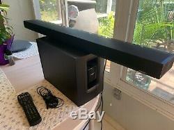 Bose Cinemate 1 Sr Son Bar / Sans Fil Acoustimass Avec Universal Remote