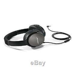 Bose Quietcomfort 25 Casque Avec Inline MIC / Remote Pour Android, Noir