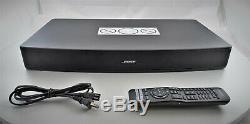 Bose Solo 15 Séries Tv Sound System II Haut-parleur Bluetooth Avec Télécommande Et Câble