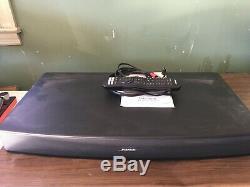 Bose Solo 15 Tv Noir Système Audio Bose Avec Universal Remote