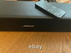 Bose Solo 5 Bluetooth Wireless Soundbar Tv Haut-parleur 22 120 Volts Black Remote
