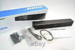 Bose Solo Tv 5 Soundbar Sound System Avec Universal Remote Control, Noir Nouveau