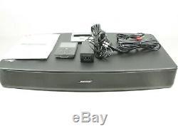 Bose Solo Tv Sound System Avec Dock Ipod À Distance 30gb Ipod Et Manuel