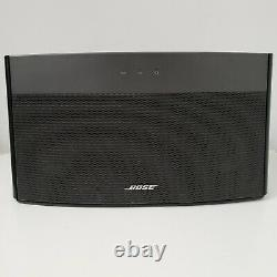 Bose Soundlink Wireless Music System Haut-parleur Bluetooth Avec Télécommande Et Alimentation