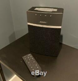 Bose Soundtouch 10 Doucement Utilisé, Avec Télécommande, Navires Gratuites À 24hrs