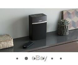 Bose Soundtouch 10 Multi-pièces Sans Fil / Haut-parleur Wi-fi Et La Radio Noire + Télécommande