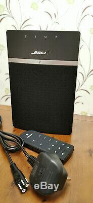 Bose Soundtouch 10 Wi-fi Bluetooth À Distance En Noir