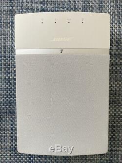 Bose Soundtouch 10 Wireless Music Système Avec Télécommande (occasion) Blanc