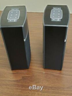 Bose Soundtouch 10 X 2 Pack De Démarrage Sans Fil 2 Haut-parleurs / Télécommandes / Bloc D'alimentation