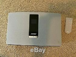 Bose Soundtouch 20 Série III Blanc Système De Musique Sans Fil, Comprend À Distance