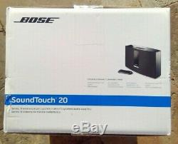Bose Soundtouch 20 Series III Système De Musique Sans Fil Avec Télécommande Noir