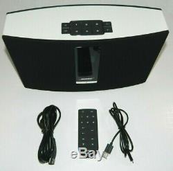 Bose Soundtouch 20 Series III Système De Musique Sans Fil Noir 355589 Avec Télécommande Etc