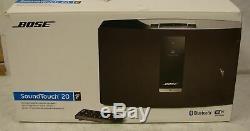 Bose Soundtouch 20 Series III Wifi Système De Musique Sans Fil Bluetooth Avec Télécommande Et Boîte