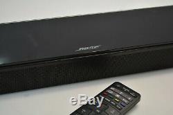 Bose Soundtouch 300 Soundbar Système Noir Avec Télécommande D'origine 421650