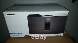 Bose Soundtouch 30 Series III Système De Musique Sans Fil Avec Télécommande Noire