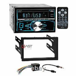 Boss CD Mp3 Usb Bluetooth Stereo Dash Kit Harnais Pour 02+ Vw Jetta Golf Passat