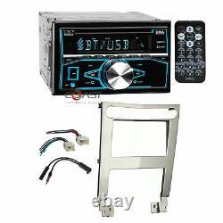 Boss CD Mp3 Usb Bluetooth Stereo Sil Dash Kit Harnais Pour 04-06 Nissan Maxima