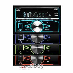 Boss CD Usb Bluetooth Stereo Dash Kit Harness Pour 2004+ Chrysler Dodge Jeep