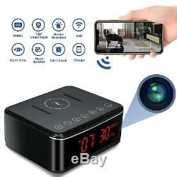 Caméra À Distance Espion Wifi Caméra Cachée / Sans Fil De Charge / Bluetooth Haut-parleur / Alarme