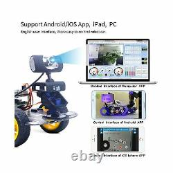 Ds Wireless Wifi /bluetooth Robot Car Kit Pour Raspberry Pi 3b+, Télécommande