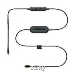 Écouteurs À Isolation Sonore Shure Se846 Avec Bluetooth, Câbles MIC À Distance, Noir