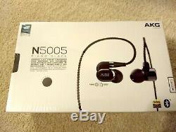 Écouteurs Intra-auriculaires Sans Fil Akg N5005 De Référence Avec Télécommande En Ligne Et Micro