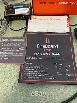 Fireboard Nuage / Sans Fil / Bluetooth Thermomètre Fbx11f- Avec Câble D'entraînement De Ventilateur