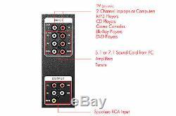 Frisby Fs-5015bt Bluetooth Usb Sd Aux Enceintes Home Cinéma Système Avec Télécommande