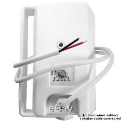 Garden Party / Kit D'enceintes Pour Barbecue En Plein Air Mini Amplificateur Stéréo Sans Fil Et 8 Haut-parleurs Blancs