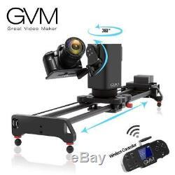 Gvm 3 Axes Sans Fil En Fibre De Carbone Motorisé Coulissant Avec Bluetooth À Distance