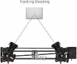 Gvm Vidéo Sans Fil En Fibre De Carbone Curseur Caméra Moteur Rail Bluetooth À Distance 32 Pouces