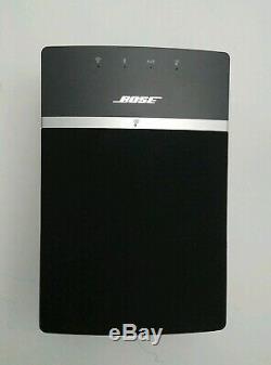 Haut-parleur Bluetooth Bose Soundtouch 10 Noir Avec Télécommande Scellée Et Câble D'alimentation