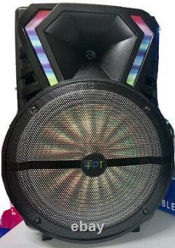 Haut-parleur Bluetooth Portable15woofer Dj (micro Sans Fil Et Télécommande) Super Basse