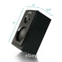 Haut-parleur Bluetooth Portable Wireless 5-speakers Remote Control Battery Black