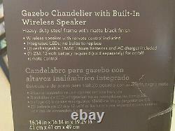 Haut-parleur Bluetooth/sans Fil À Chandalier Avec Lumière Led Et Télécommande