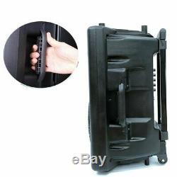 Haut-parleur Portable Bluetooth Système Pa 12 Télécommande Dj Haut-parleur 1500w Micro Sans Fil
