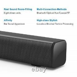 Haut-parleurs Sans Fil Soundbar Bluetooth Stereo Sound Bar Super Bass Surround Remote