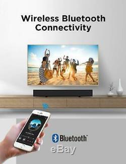 Home Cinéma Son Bar Haut-parleur Sans Fil Audio À Distance Stéréo Bluetooth Contrôle