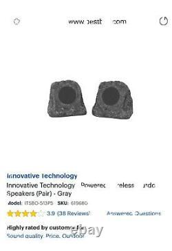 Innovative Tech Étanche Sans Fil Rechargeable Bluetooth Haut-parleurs Extérieur Rock