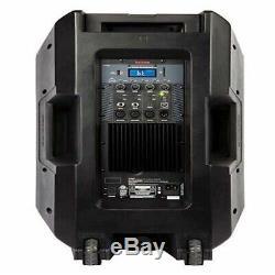 Ion Haut-parleur Bluetooth Led Avec Microphone, Support & Wireless 500w À Distance