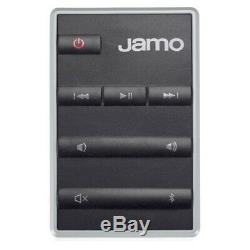 Jamo Ds5 40w 2pk Enceinte Sans Fil Bluetooth Avec Télécommande / Aux Pour Smartphones Blanc