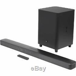Jbl Bar 5.1 Surround 5.1 Canaux Soundbar Et Caisson De Basses Avec Télécommande