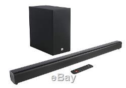 Jbl Cinema Sb160 220 Watts Soundbar Bluetooth Sans Fil Caisson De Basses Et Nib À Distance