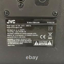 Jvc Th-wl315b Bluetooth Wireless Soundbar Subwoofer 2.2 Système De Haut-parleurs + Remote