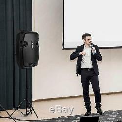 Karaoke Portable Speaker Système Sans Fil Bluetooth Microphone Extérieur À Distance