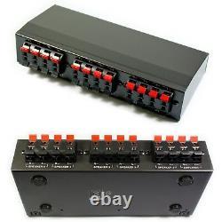 Kit Bluetooth 4 Zones8 X 60w Haut-parleurs Blancs Extérieurs Jardin Amplificateur Stéréo Bbq