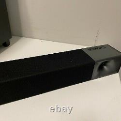 Klipsch Cinema 400 2.1 Barre De Son Bluetooth Avec 8 Subwoofer Sans Fil Avec Télécommande